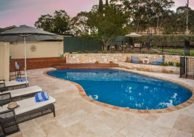 Gardengigs -After Torrens Project Pool Tiling Full View of the Pool