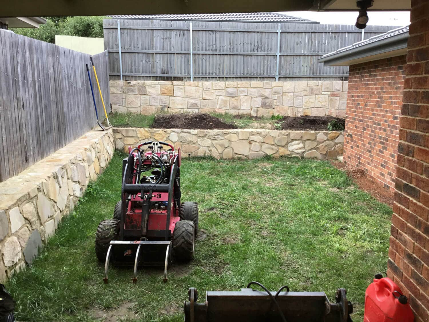 Gardengigs - Bonner Landscaping Project
