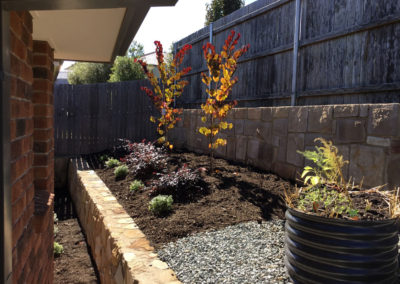 Gardengigs - Bonner Landscaping Tilled and Cultivated Back Garden