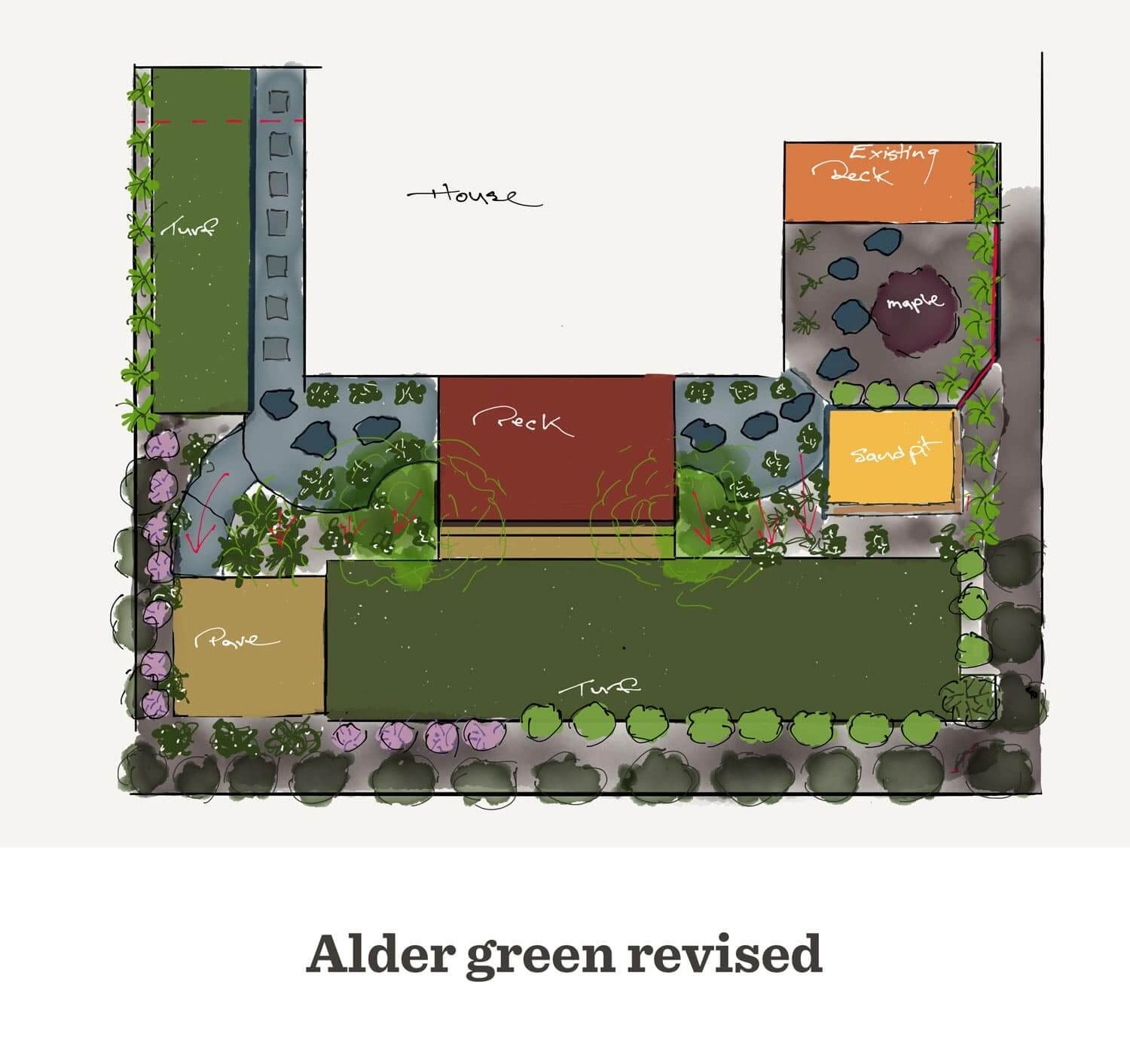 Gardengigs - Conder Landscape Design Proposal