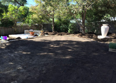 Gardengigs - Cook Before Landscaping Project Land Preparation