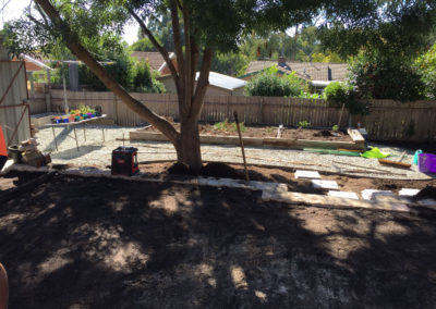 Gardengigs - Cook Landscaping Project Before Full View of Project Site
