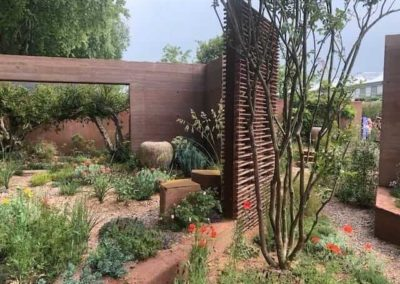 Gardengigs - SARAH PRICE GARDEN Chelsea Flower Show Segregated Plant Design