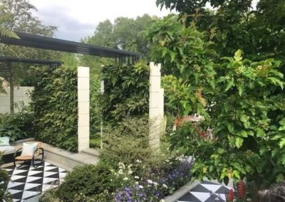 Gardengigs - VARIOUS GARDENS Chelsea Flower Show Metal Trellis